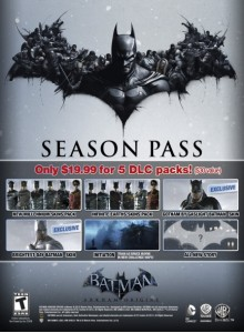 Batman Arkham Origins Season Pass PC Download