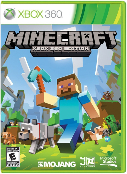 Minecraft XBOX 360 Download Code