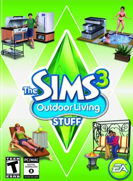 Sims 3 Outdoor Living Stuff PC/Mac Download