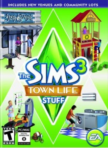 The Sims 3 Town Life Stuff PC/Mac Download