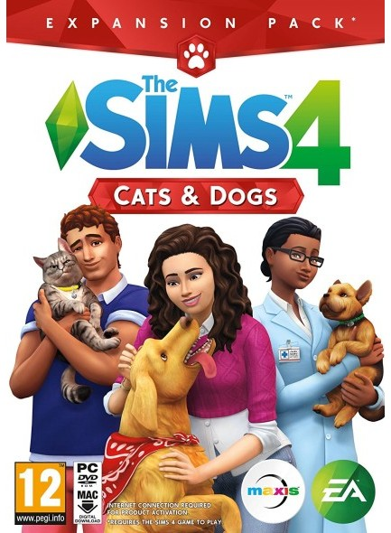 The Sims 4 Cats and Dog PC/Mac Download